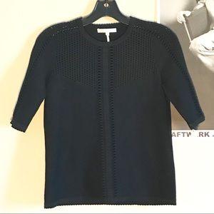 DESIGNER Maje Cropped Sweater